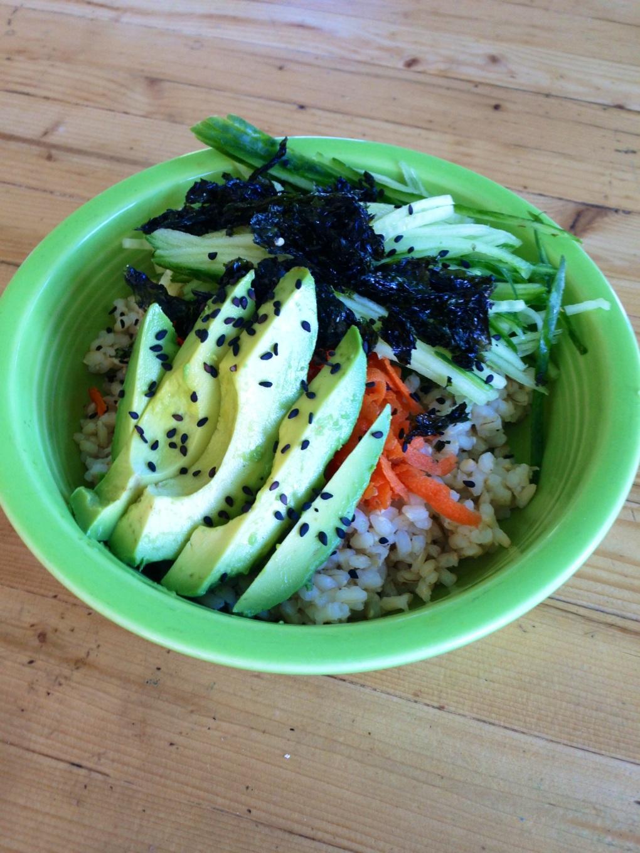Sushi Seaweed bowl
